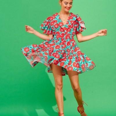 POPPIE MINI DRESS - KARAVAN CLOTHING
