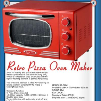 Retro Electric Oven - Retro Line