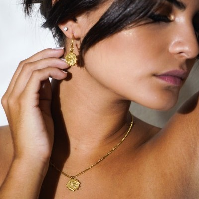 Gardenia Necklace (Gold) - ACTO DESIGN