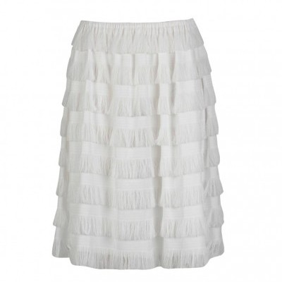 MISSES CHEERFUL SKIRT - MISSES WHITE
