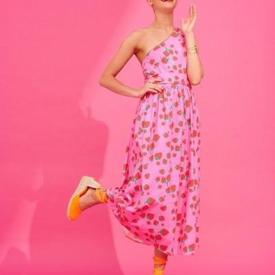 KIM DRESS (PINK) - KARAVAN CLOTHING
