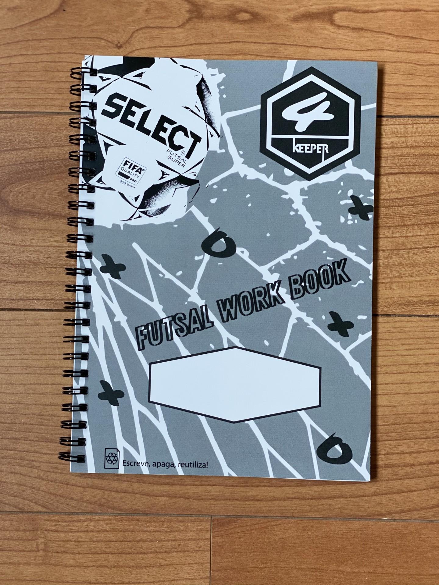 Futsal Work Book Treinador de Guarda Redes