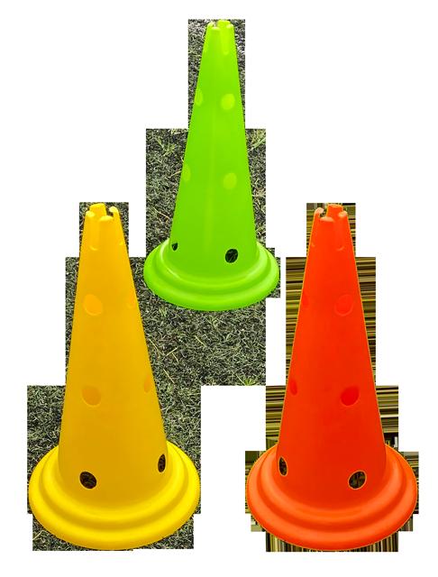 Cone PVC Perfurado 48cm