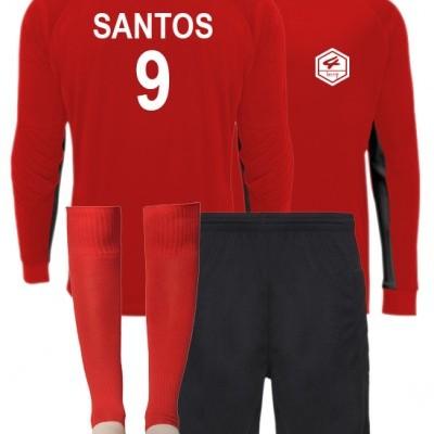 KIT Guarda Redes (Camisola manga comprida, calções e meias)