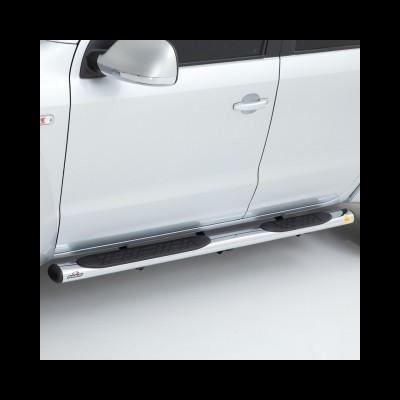 Volkswagem Amarok CD KEKO K1 - Estribos tubo oval cromo / Chrome oval side step
