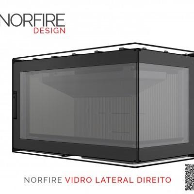 NORFIRE 870 VIDRO LATERAL