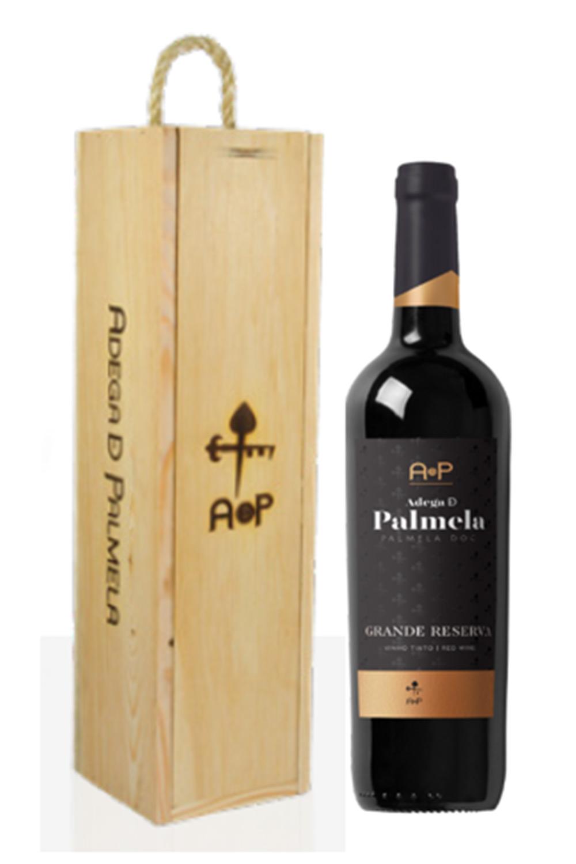Caixa de 1 garrafa de vinho Adega de Palmela Grande Reserva 75cl