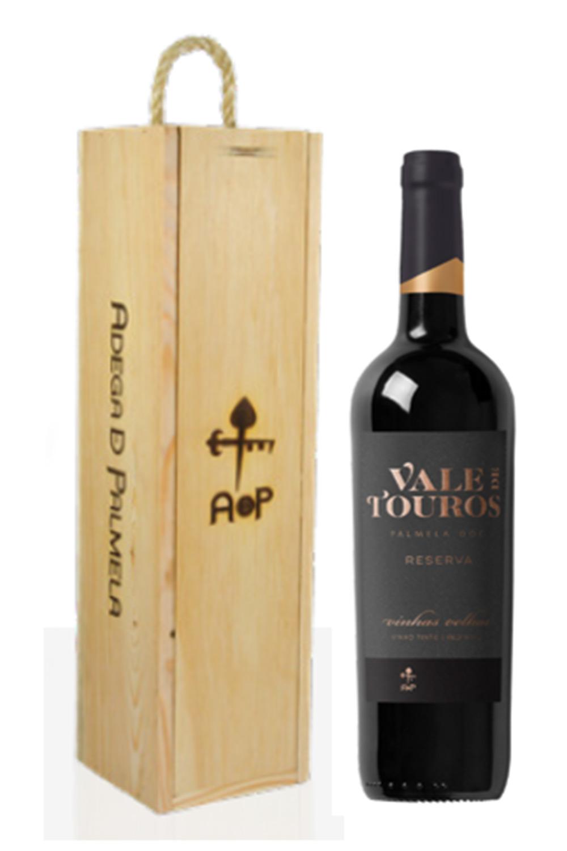 Caixa de 1 garrafa de vinho Vale de Touros Vinhas Velhas Reserva 75cl