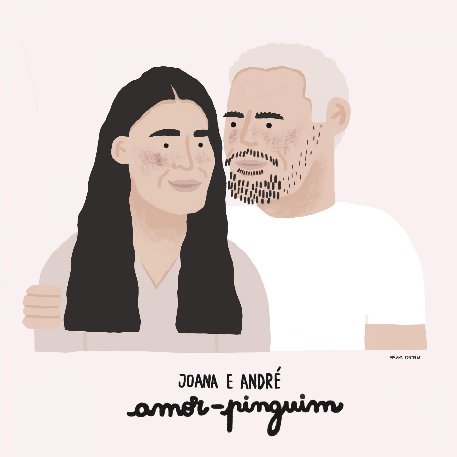 Um retrato personalizado por Adriana Fontelas