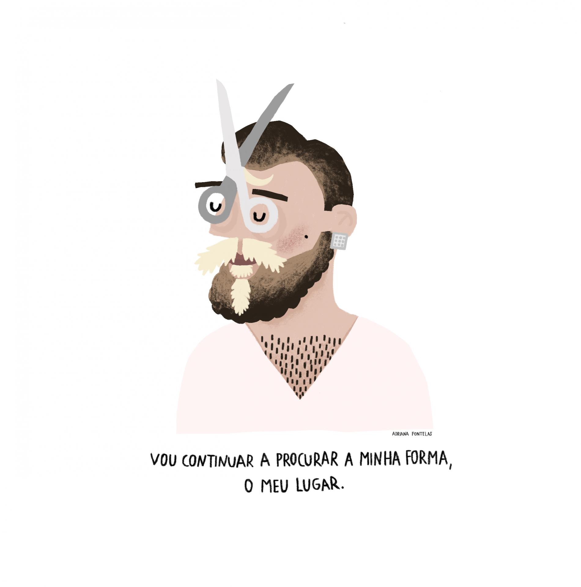 """Ilustração """"António Variações"""""""