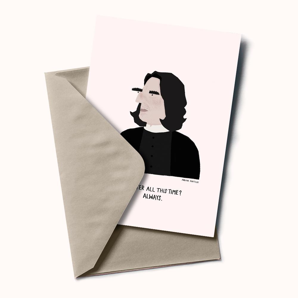 "Postal ""Severus Snape"""