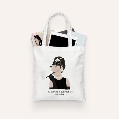 """Tote Bag """"Audrey Hepburn"""" (PRÉ-VENDA)"""