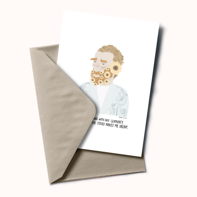 """Postal """"Vicent Van Gogh"""""""