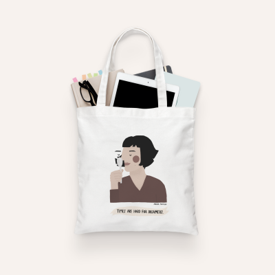 """Tote Bag """"Amélie Poulain"""" (PRÉ-VENDA)"""