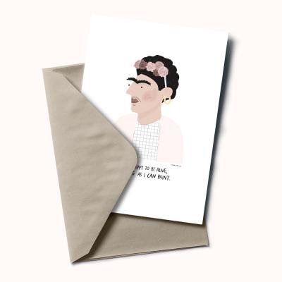 """Postal """"Frida Kahlo"""""""