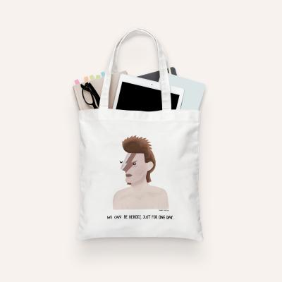 """Tote Bag """"David Bowie"""" (PRÉ-VENDA)"""