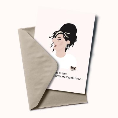 "Postal ""Amy Winehouse"""