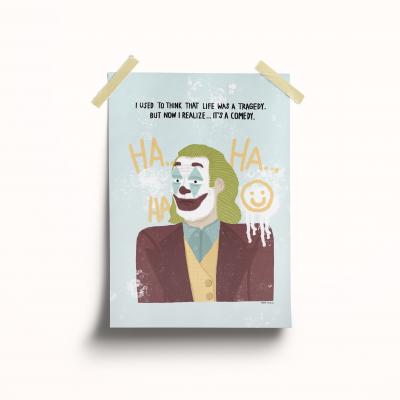 "Ilustração ""Joker"""
