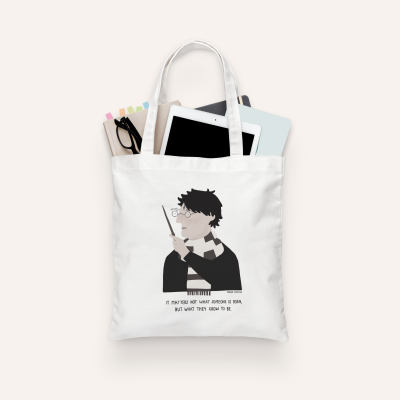 "Tote Bag ""Harry Potter"" (PRÉ-VENDA)"