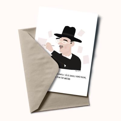 """Postal """"Fernando Pessoa"""""""