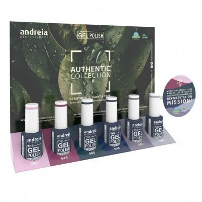 """The Gel Polish Andreia - Coleção 6 cores """"Authentic"""""""