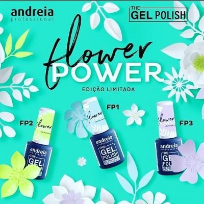 """Coleção Andreia """"Flower Power"""" (3 cores)"""
