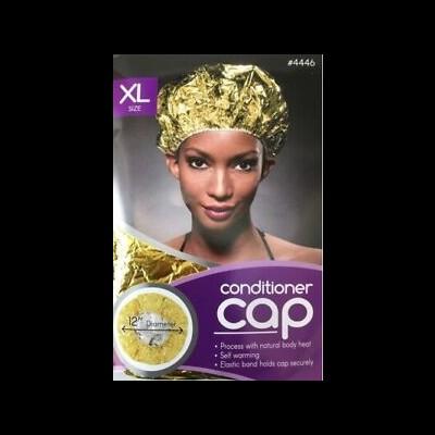ANNIE CONDITIONER CAP X-LARGE GOLD # 4446