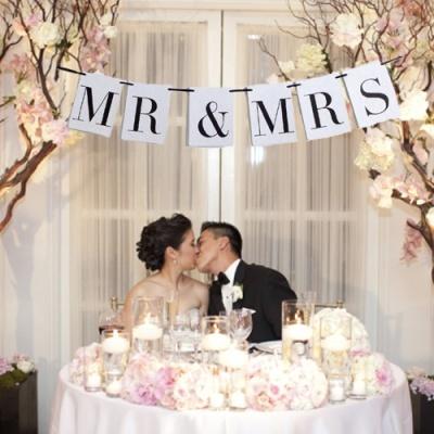 Bandeirola Mr. & Mrs.