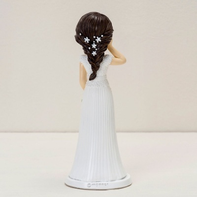 Noiva Pop & Fun com bouquet