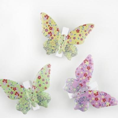 3 Molas borboleta