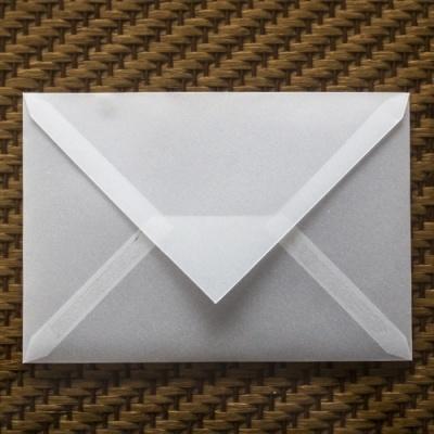 Pack 50 Envelopes Vegetal Branco C6