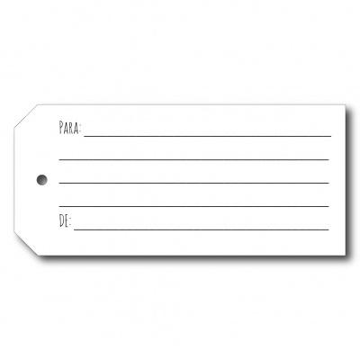 Etiqueta para assinaturas