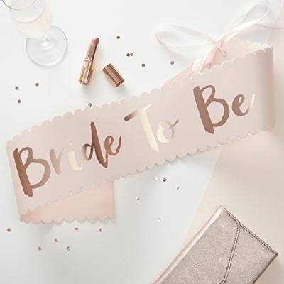 """Faixa Bride to Be """"Team Bride"""""""