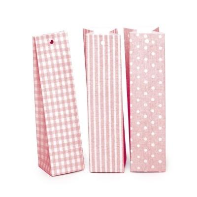 24 Caixas altas em rosa