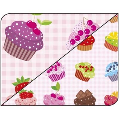 Pack 5 folhas Cupcake 50x70cm