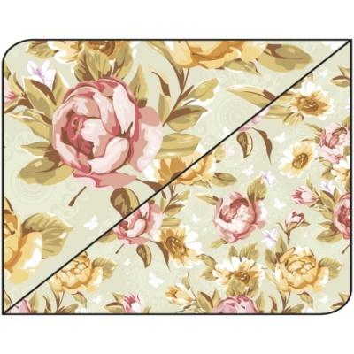Pack 5 folhas Florais 55 50x70cm
