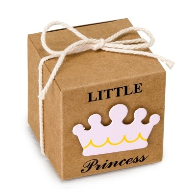 25 Caixas Cubo Little Princess
