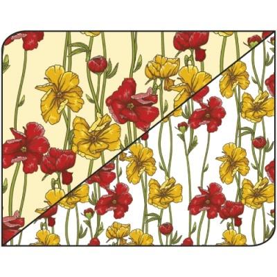 Pack 5 folhas Florais 1 50x70cm