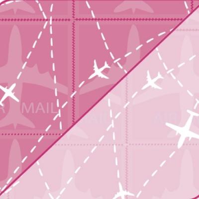 Pack 5 folhas Air Mail 50x70cm