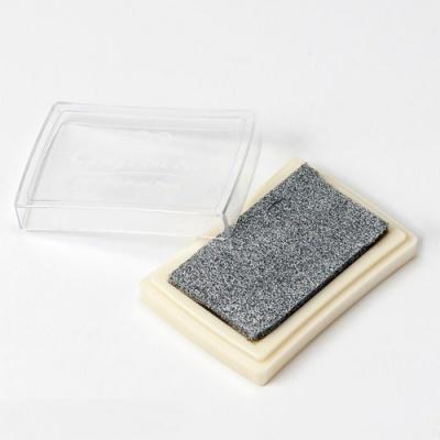 Almofada de tinta prateada para carimbos