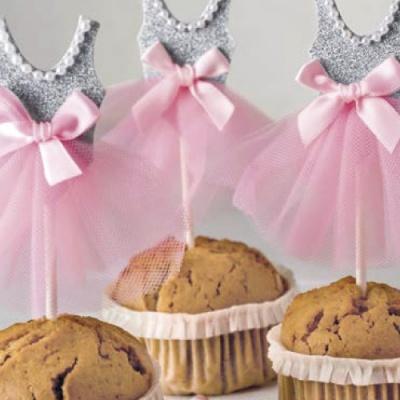 5 decorações para Cupcakes