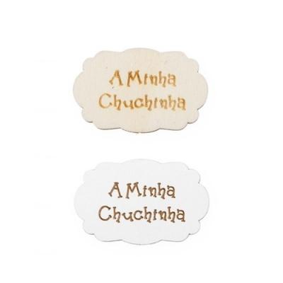 Conjunto de 12 Placas A minha Chuchinha