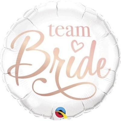 """Balão Foil 18"""" """"Team Bride"""""""