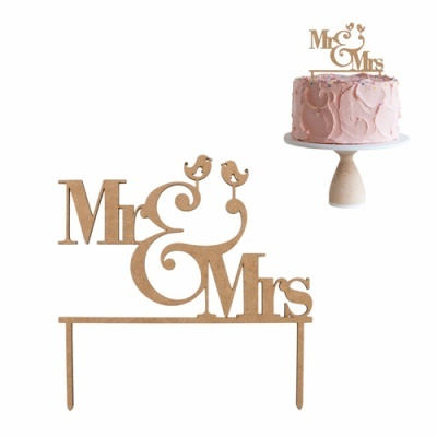 Mr & Mrs em MDF