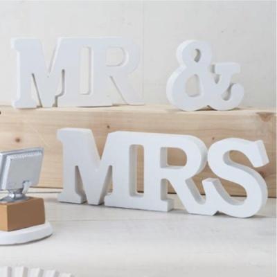 Conjunto de letras MR & MRS