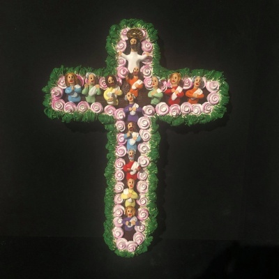 Última ceia em cruz