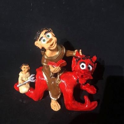 Santo António no diabo