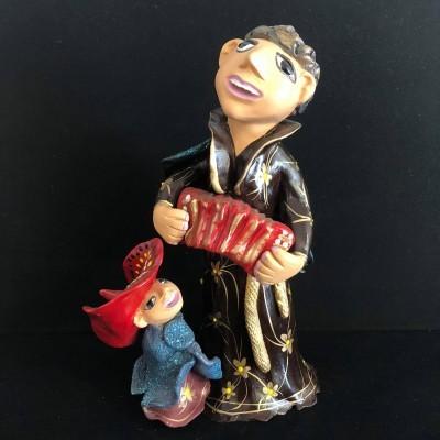 Santo António musical - acordeão