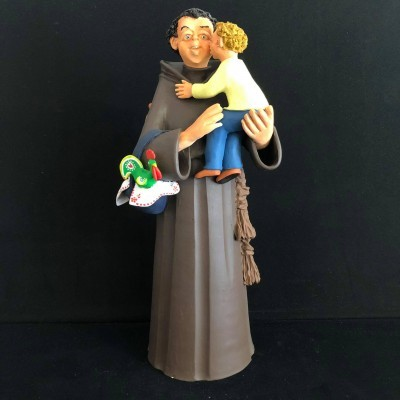 Santo António com o galo