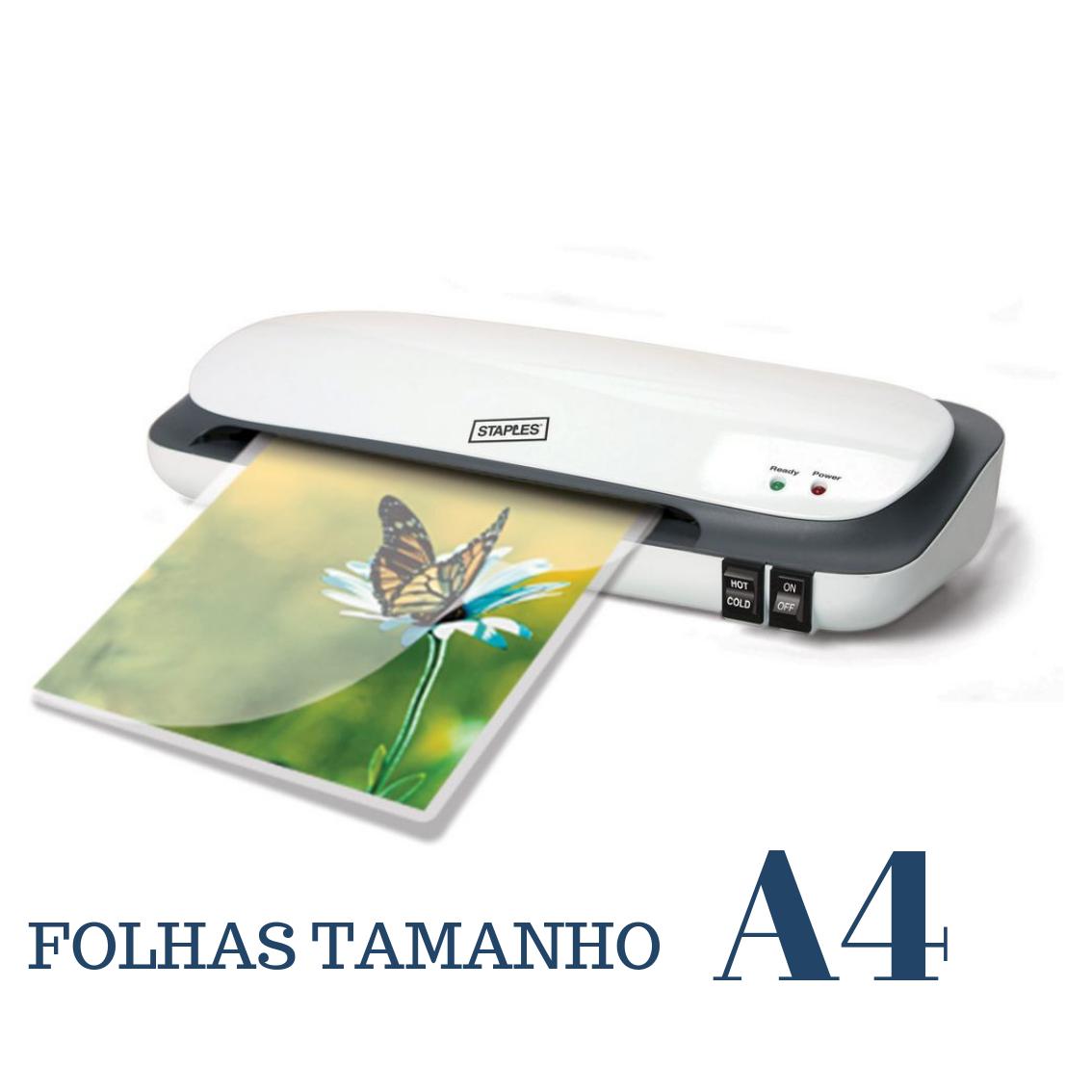 PLASTIFICAÇAO TÉRMICA folhetos informativos (A4)